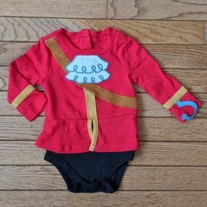 Disney Store Captain Hook Costume Onesie